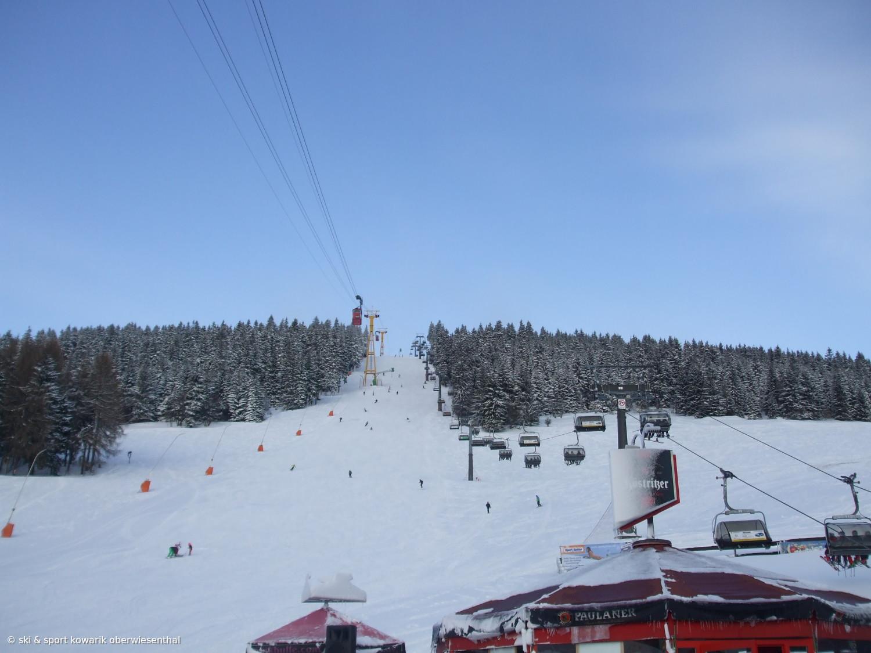 Skilift Oberwiesenthal - unter der Fichtelberg-Schwebebahn (c) Ski und Sport Jana Kowarik Oberwiesenthal