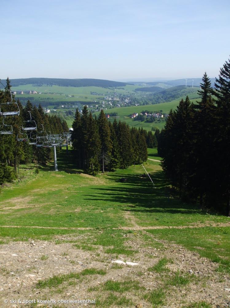 Skilifte im Sommer - Skigebiete rund um Oberwiesenthal und Bozi Dar (c) Ski und Sport Jana Kowarik Oberwiesenthal