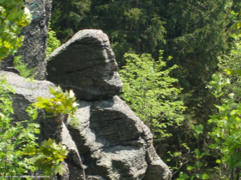 Sphinx Felsen  (c) Ski und Sport Jana Kowarik Oberwiesenthal