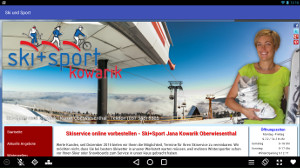 Android App Smartphone Oberwiesenthal